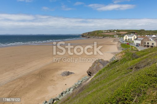 istock Broad Haven St Bride's Bay Pembrokeshire Wales UK 178575122