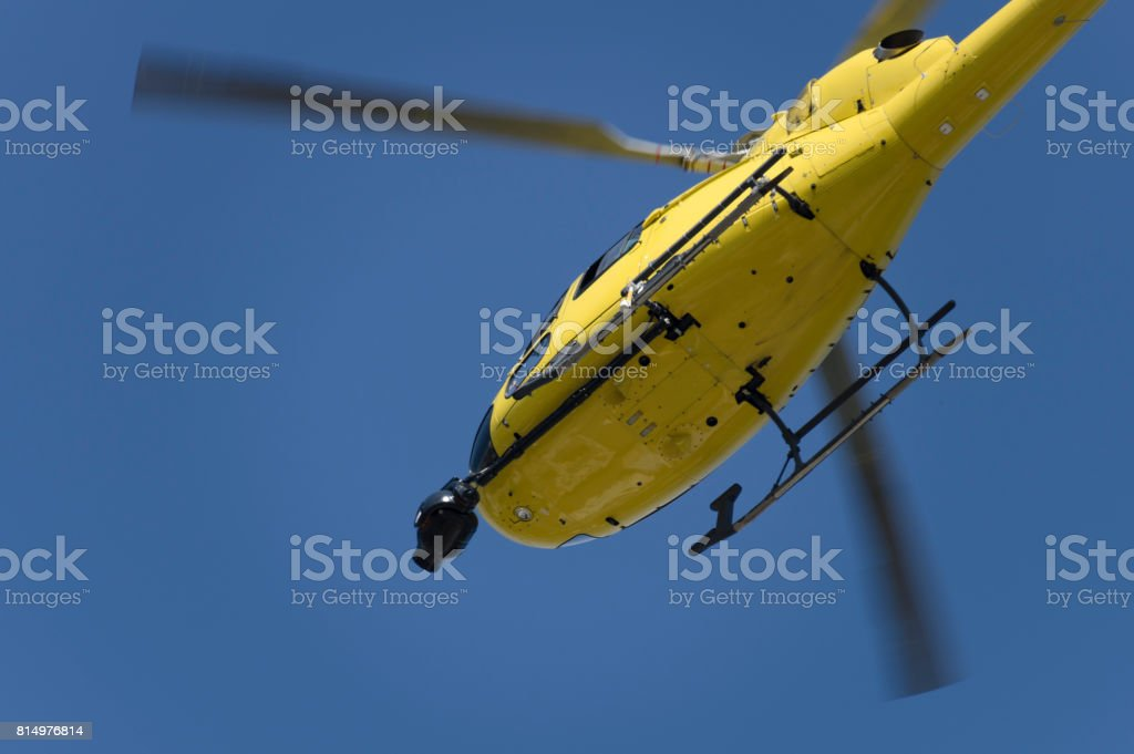 Yayın helikopter royalty-free stock photo