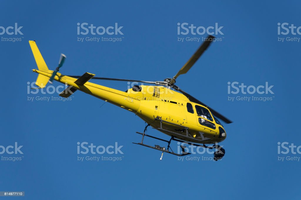 Yayın helikopter stok fotoğrafı
