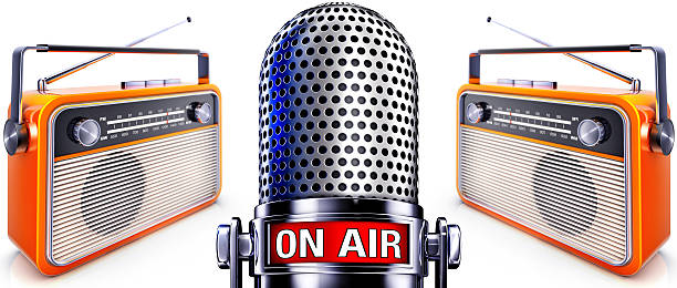 broadcast - emissione radio televisiva foto e immagini stock