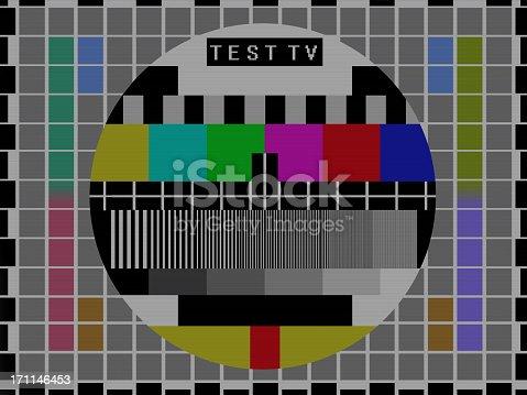 istock TV Broadcast Test Screen 171146453