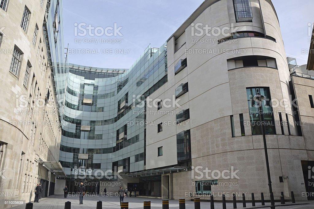 BBC Broadcasting House stock photo