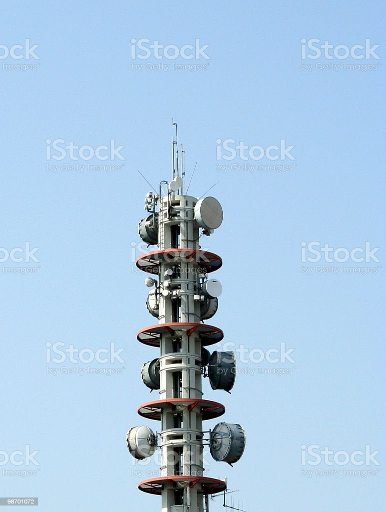 Broadcasting Tower royalty-free stock photo
