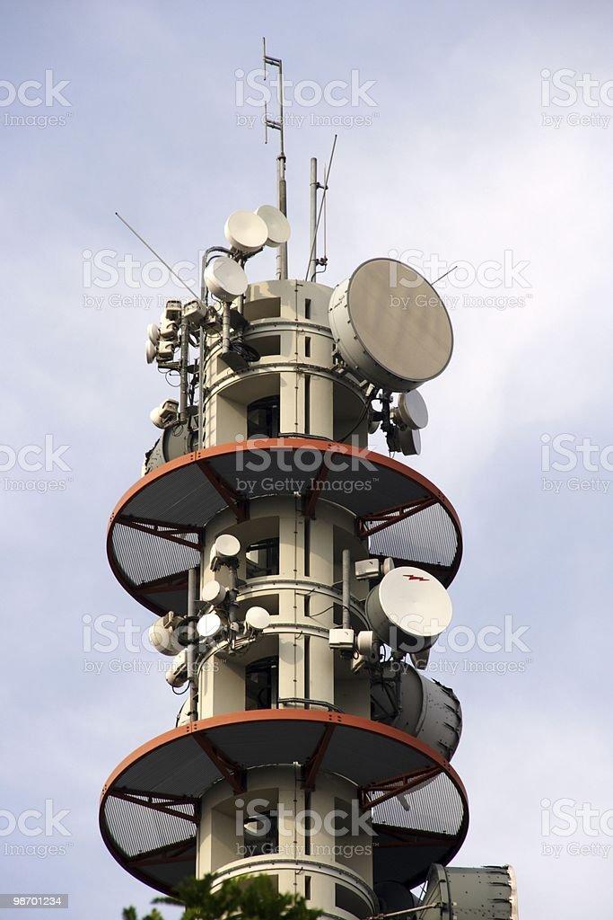 Torre di trasmissione foto stock royalty-free
