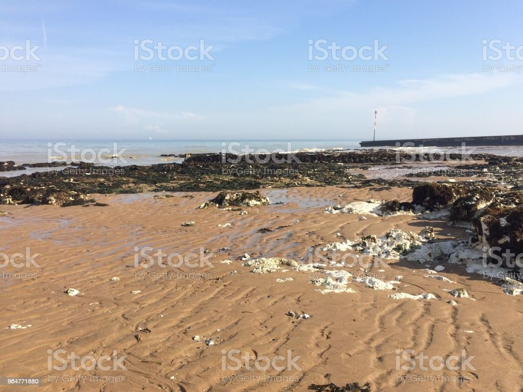 Broadstairs beach in Kent royalty-free stock photo