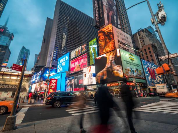 Broadway in Manhattan, New York City – Foto