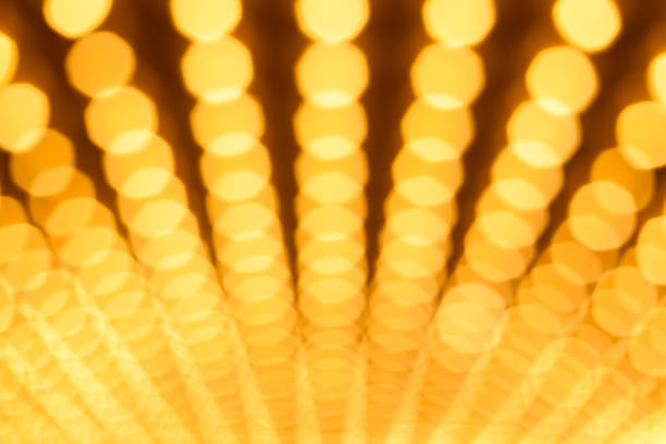 Broadway Lights Background stock photo