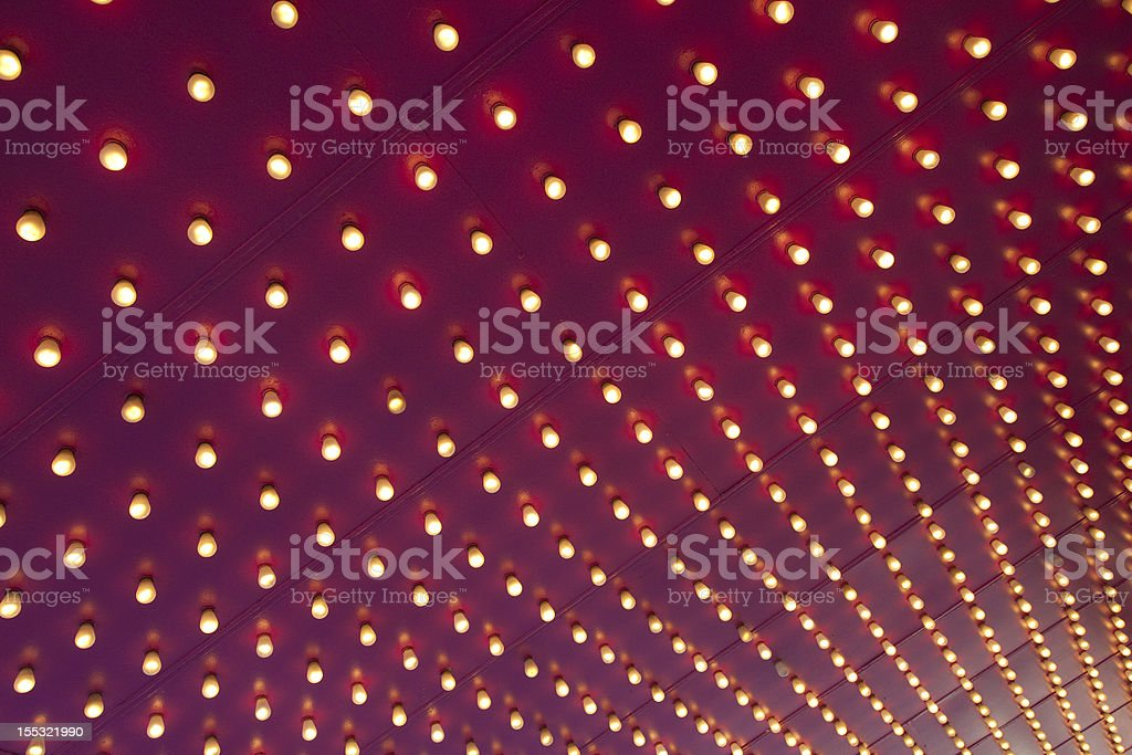 Broadway Lights royalty-free stock photo