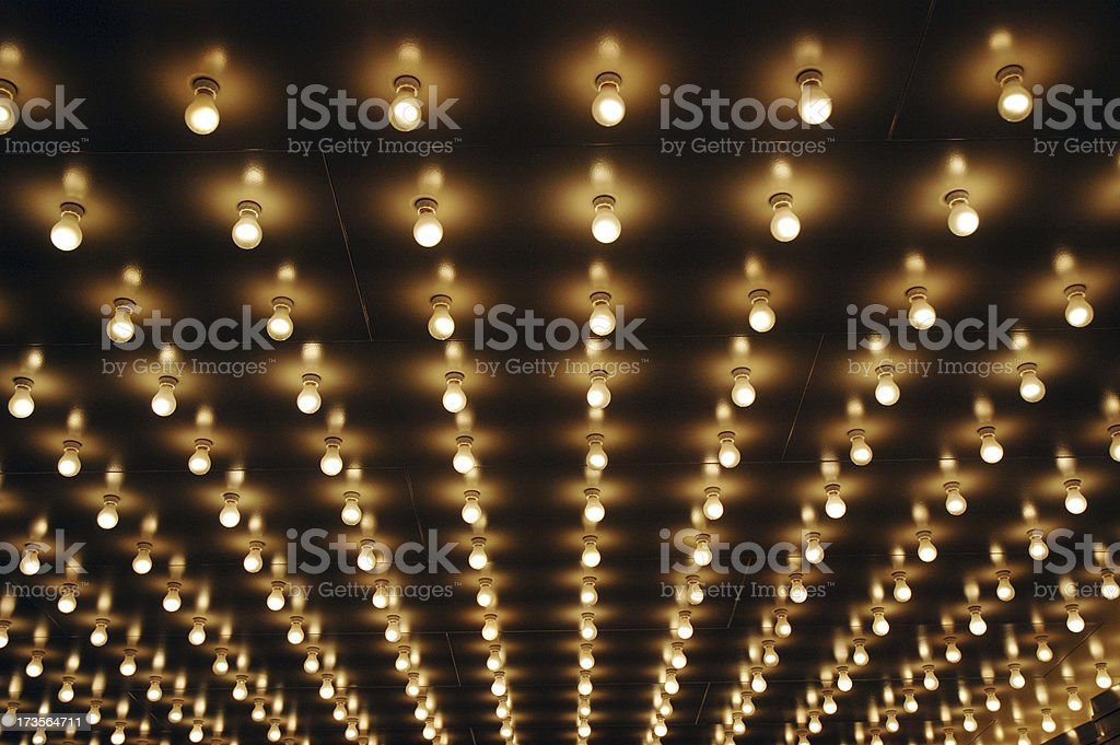 Broadway Lights royalty-free stock photo