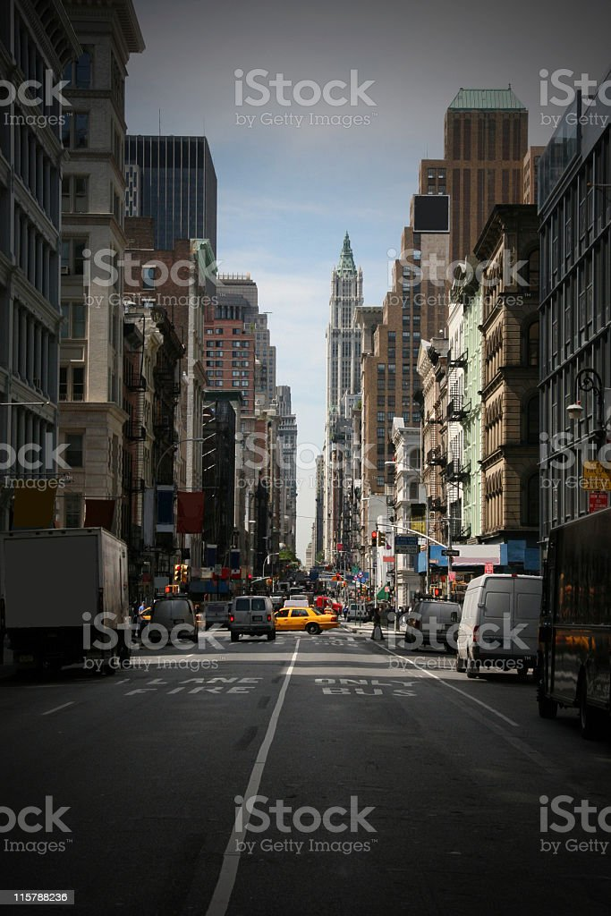 Broadway, Manhattan, New York City, USA stock photo