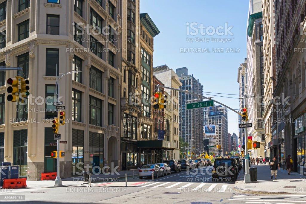 Broadway, Manhattan, NYC. stock photo