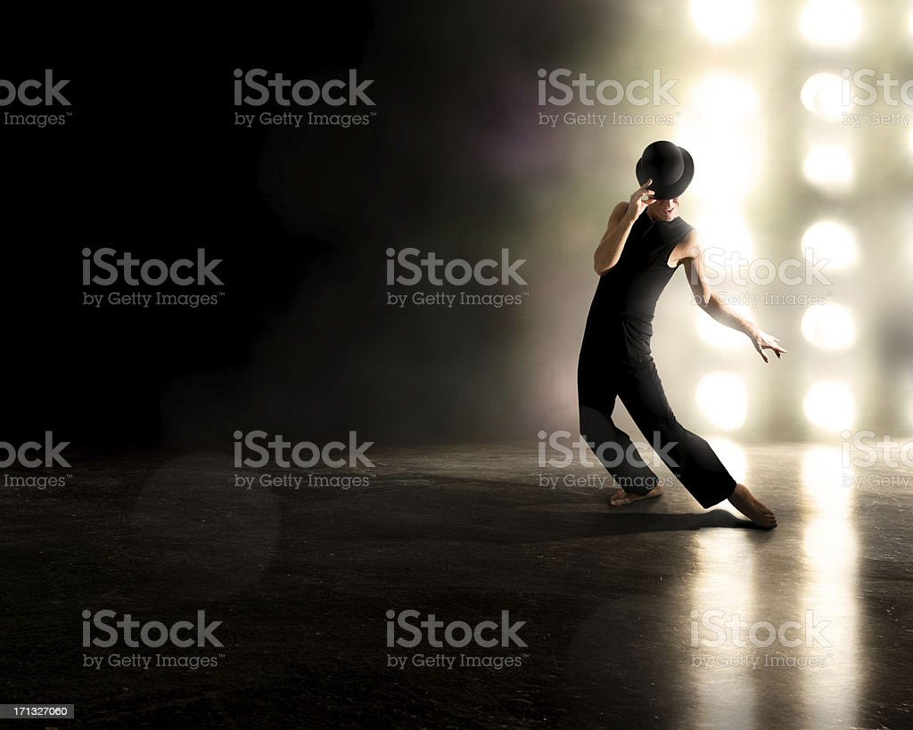 Broadway Performer royalty-free stock photo