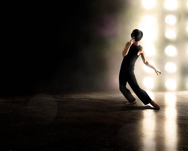 broadway-performer - stage musical stock-fotos und bilder