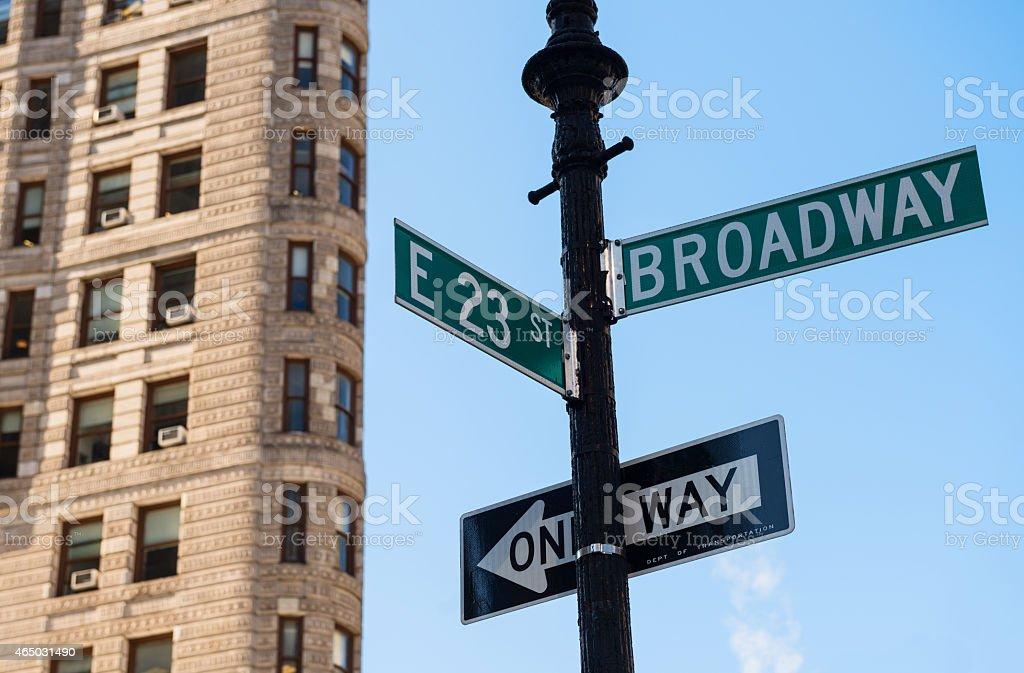 Broadway in New York City anmelden – Foto