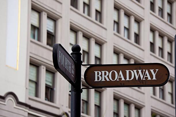 broadway street - hatfield town stock-fotos und bilder