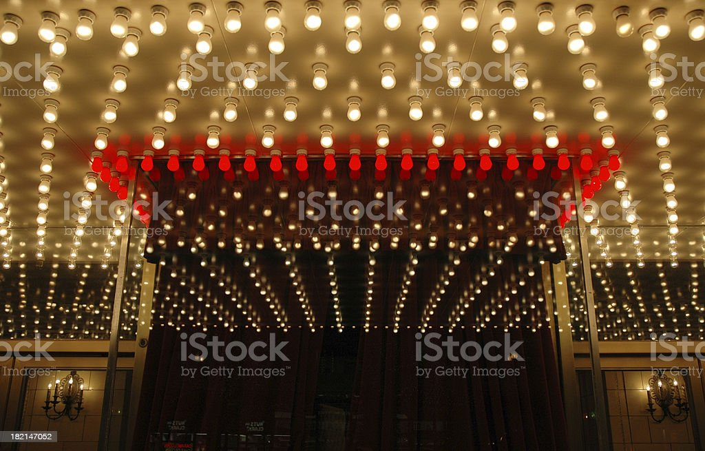 Broadway Theater Box Office stock photo