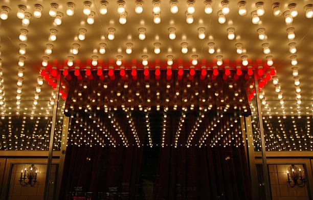 Broadway Theater escritório de caixa - foto de acervo
