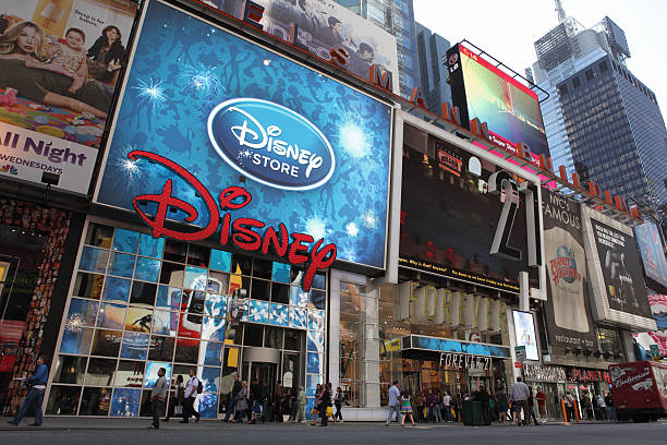 Broadway, am Times Square in NYC Disney Store – Foto