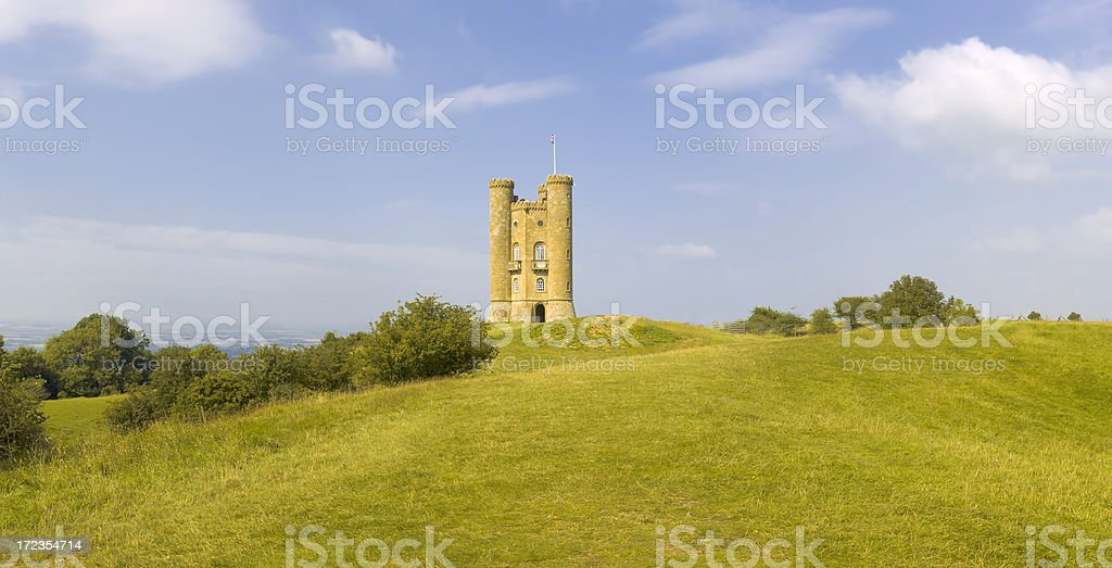 Broadway tower royalty-free stock photo