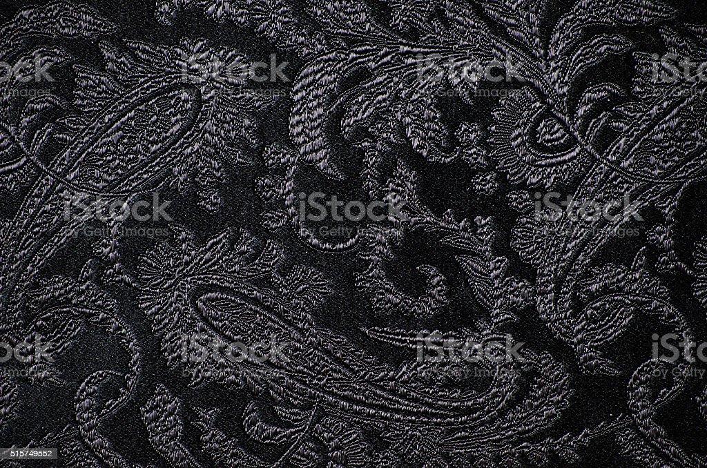 brocade fabric detail stock photo