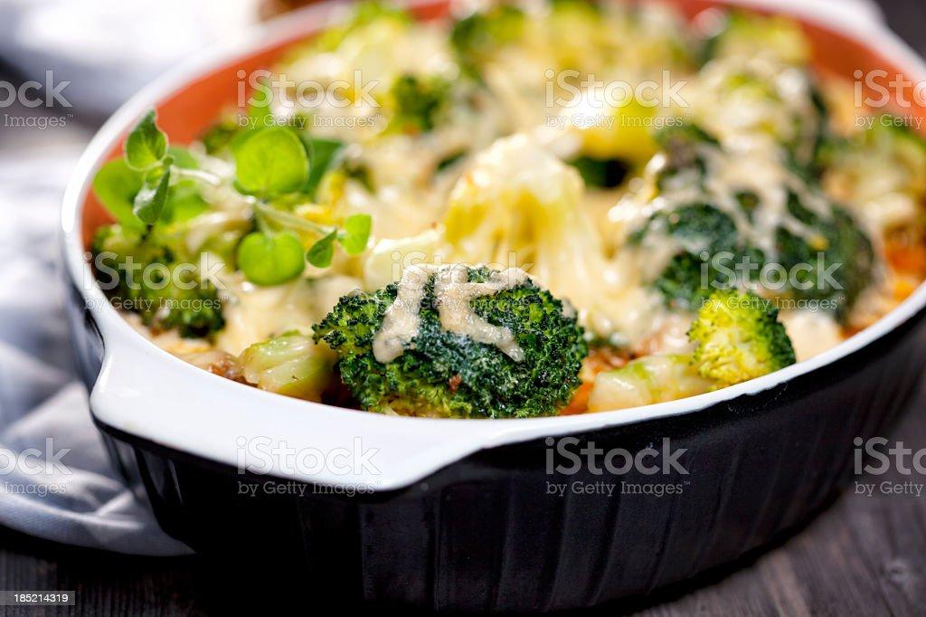 Broccoli Casserole stock photo