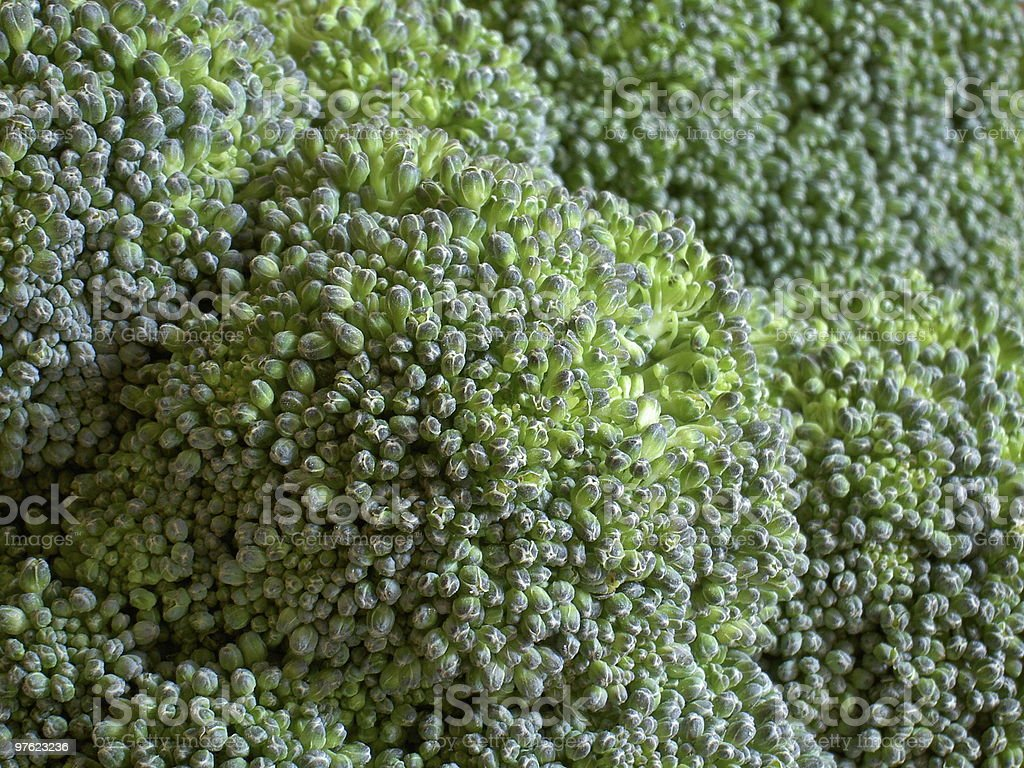 Brocoli gros plans photo libre de droits