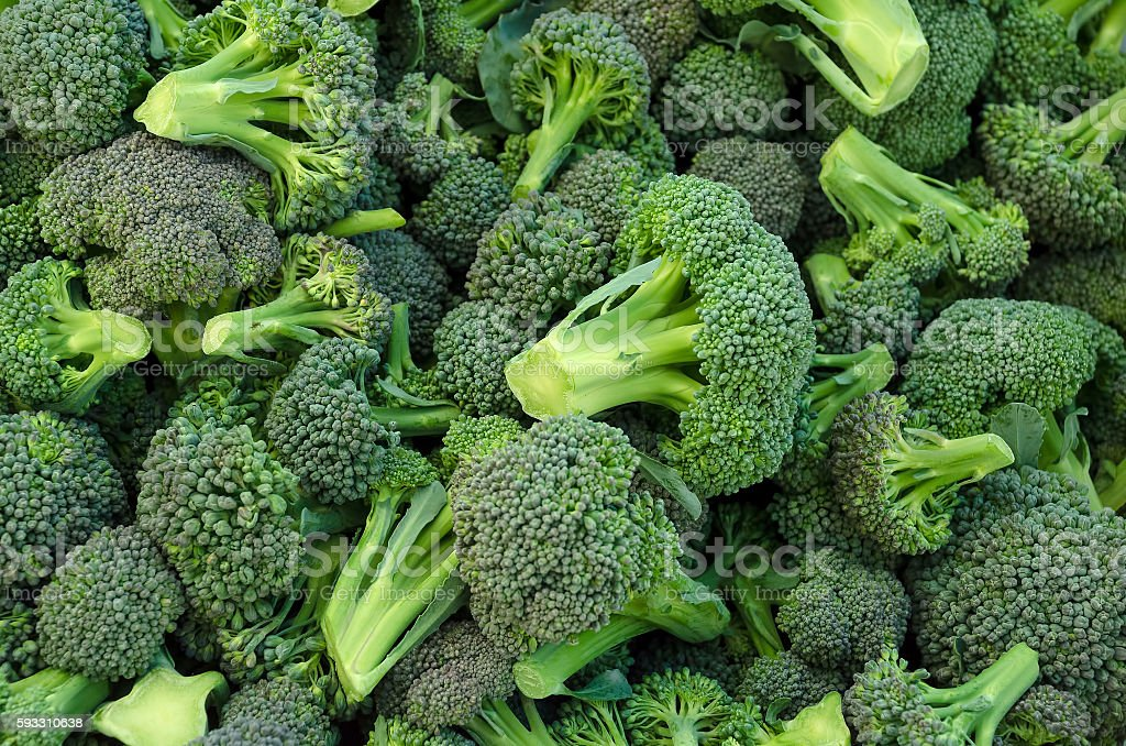 Broccoli in a pile​​​ foto