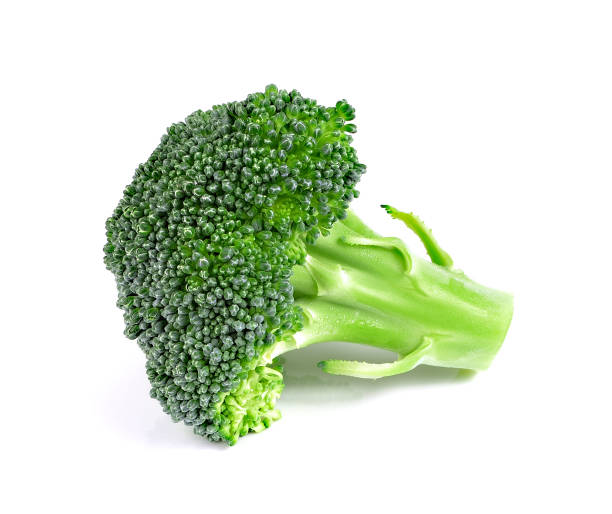 Broccoli on the white background Broccoli on the white background broccoli stock pictures, royalty-free photos & images