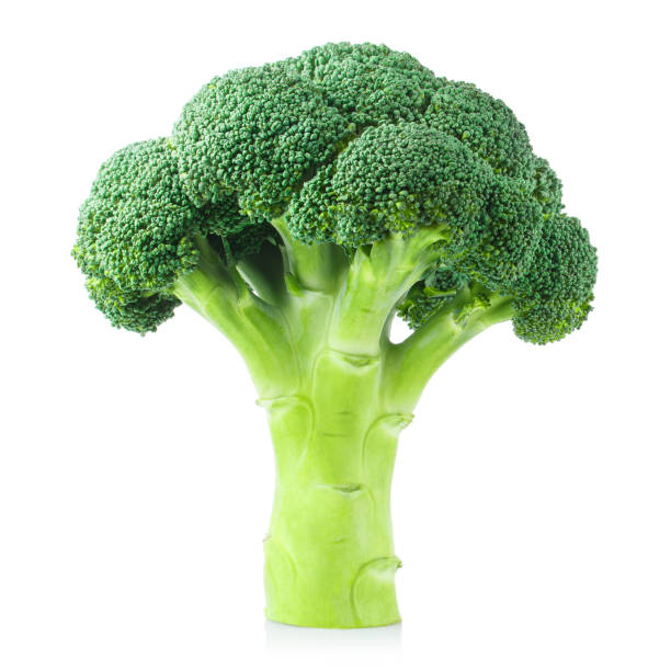 Broccoli on white Delicious fresh broccoli, isolated on white background broccoli stock pictures, royalty-free photos & images