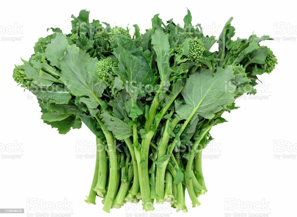 broccoli raab stock photo