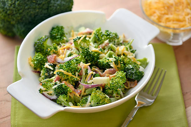 Broccoli Salad stock photo