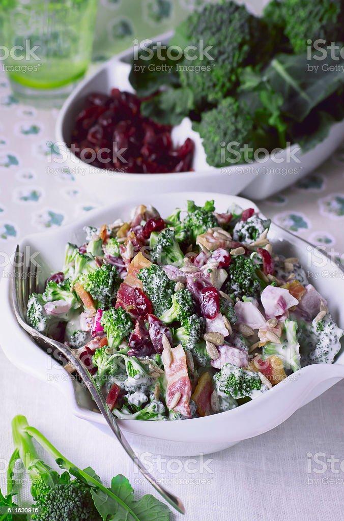 Broccoli Salad Recipes stock photo