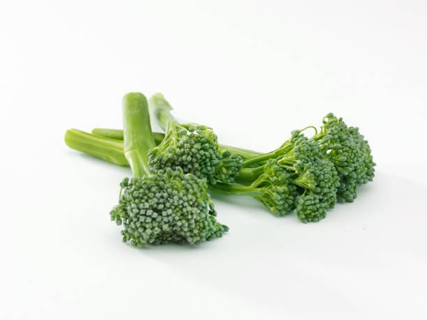 broccoli spears stock photo