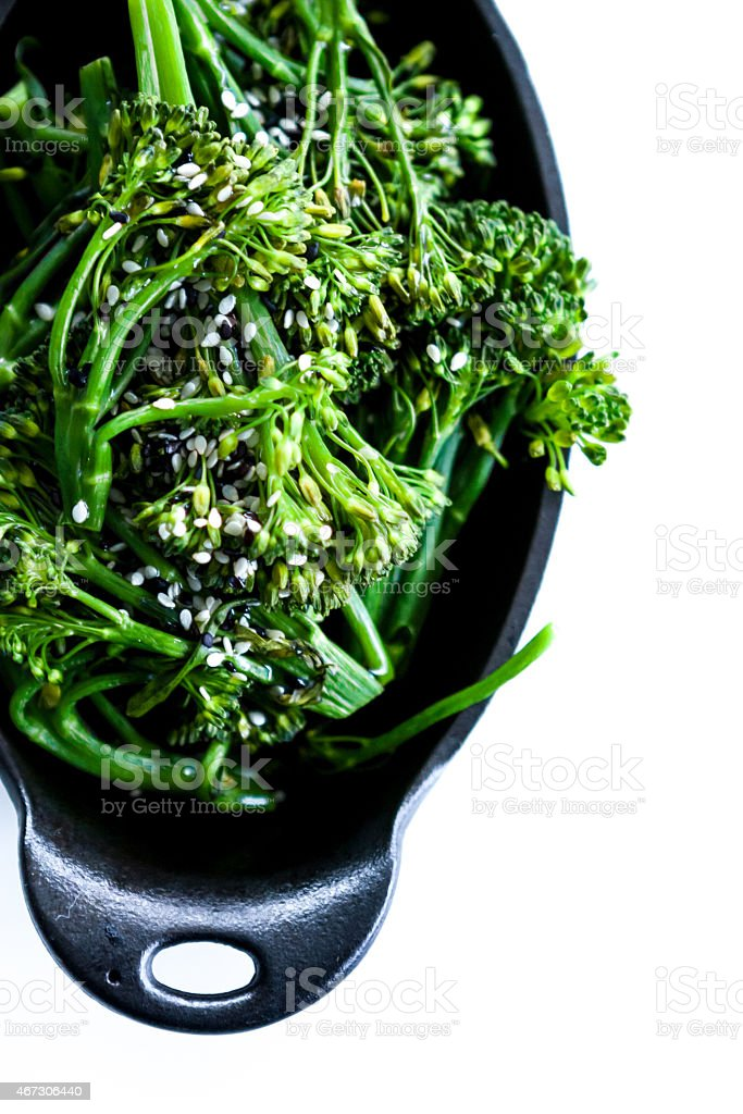 Broccolini stock photo