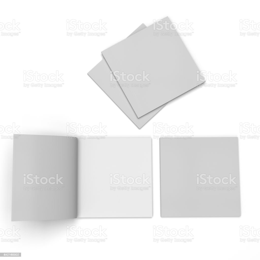 Brochure or Catalog Template - foto stock