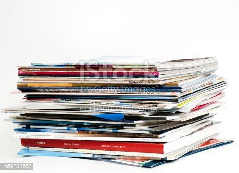 Brochures of major tour operators for 2012