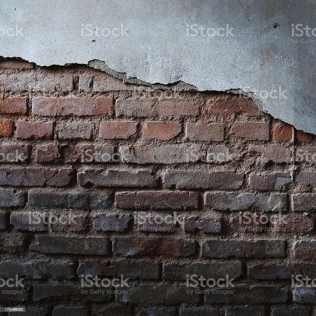 Brockville brick wall Lizenzfreies stock-foto