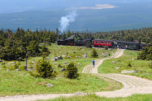 Brocken Railway Steam locomotive