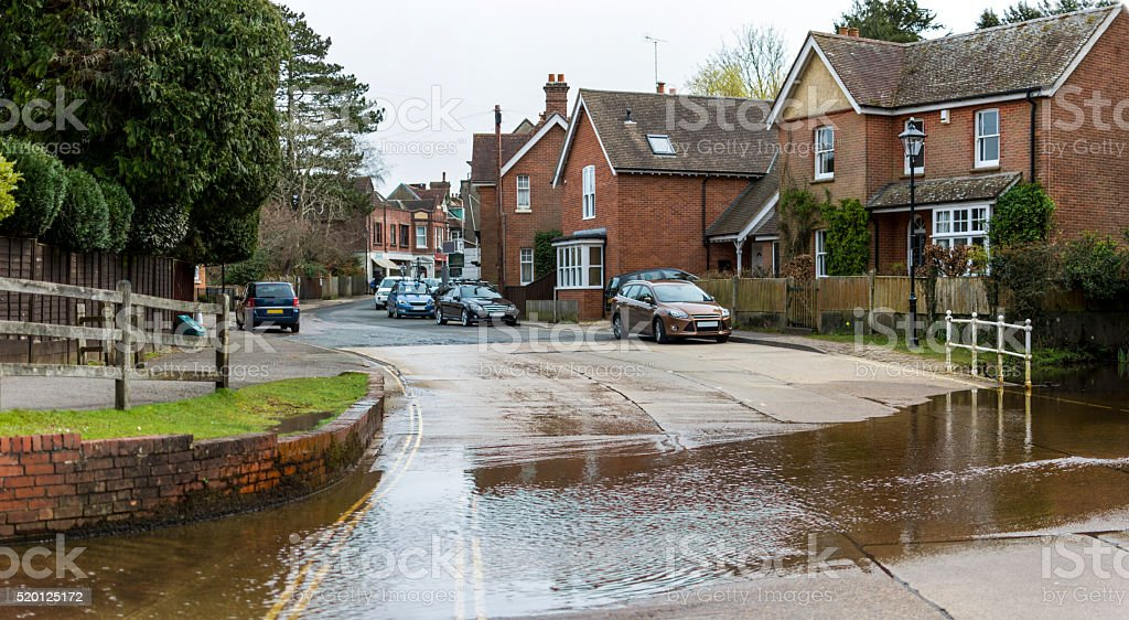 Brockenhurst Forde stock photo