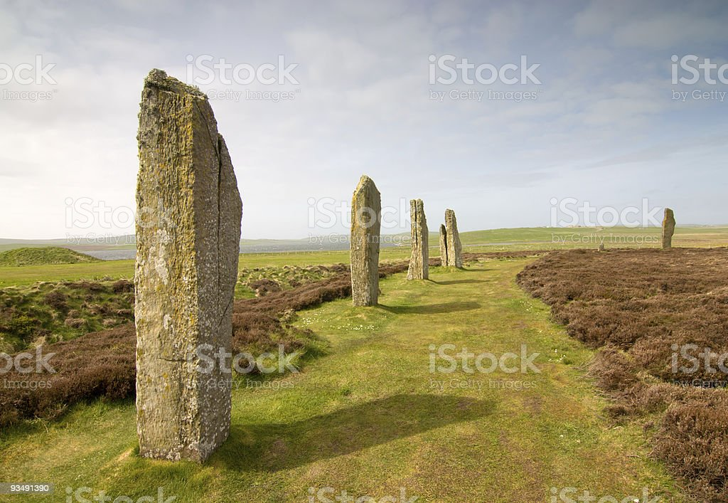 Brodgar royalty-free stock photo