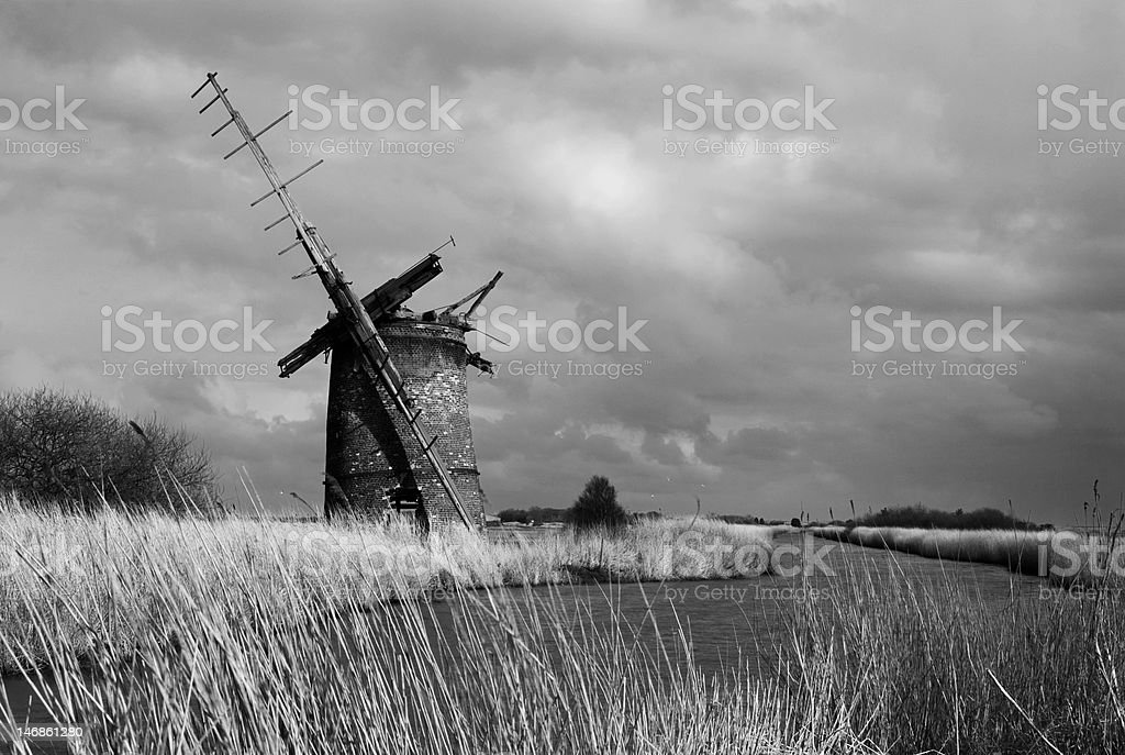 Brograve Storm stock photo