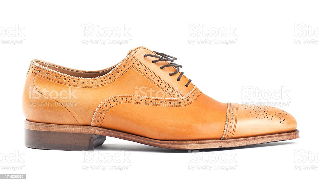 Brogue Shoe royalty-free stock photo