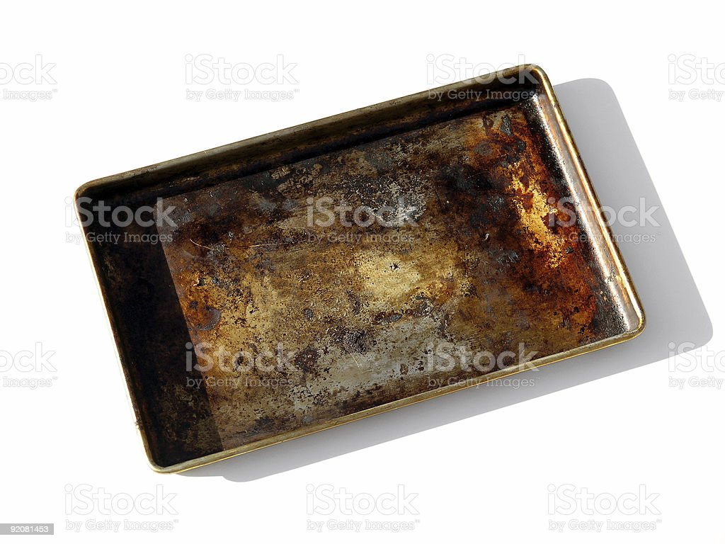 Broiler Pan stock photo