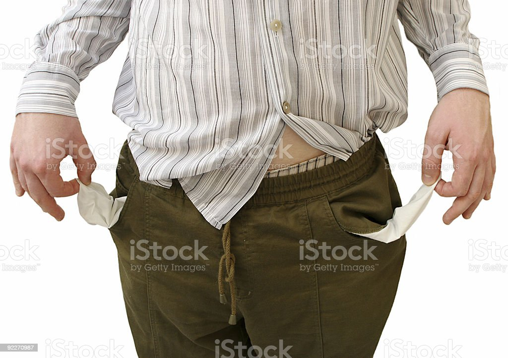 Broke stock photo