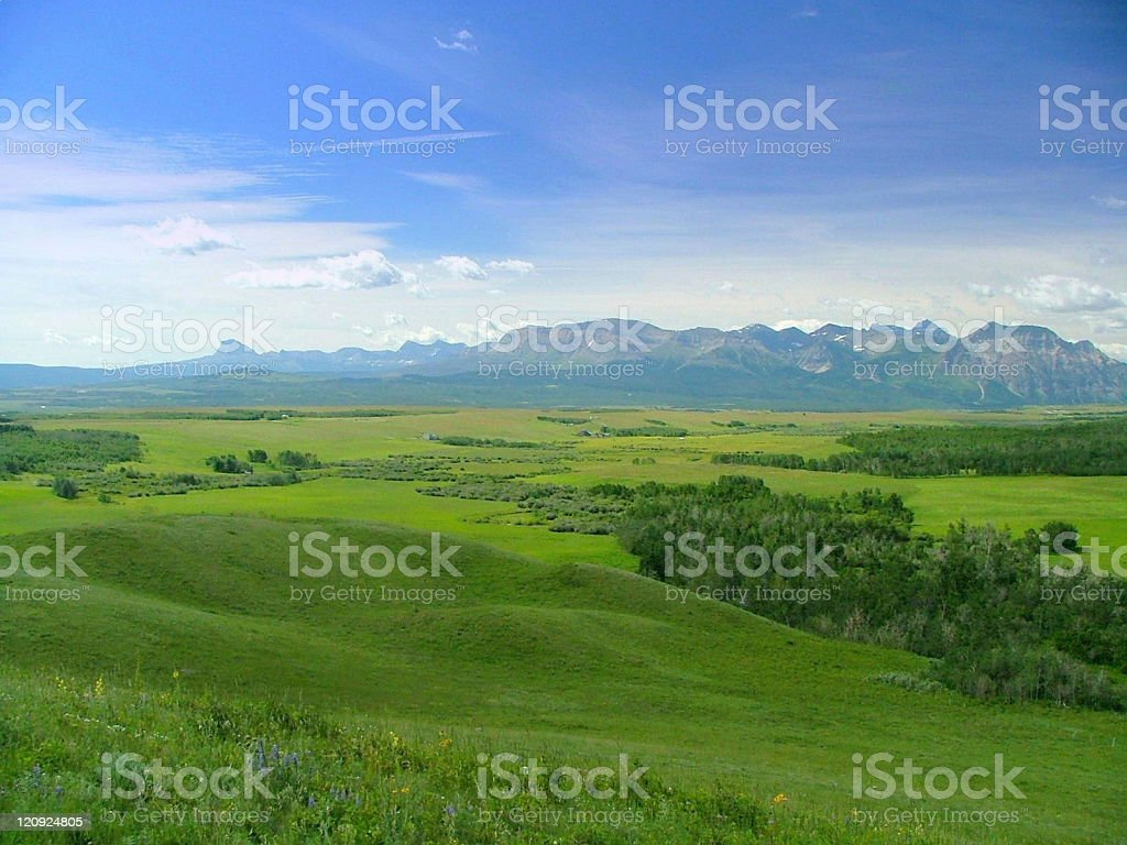 Brokeback Mountain Country 2 stock photo