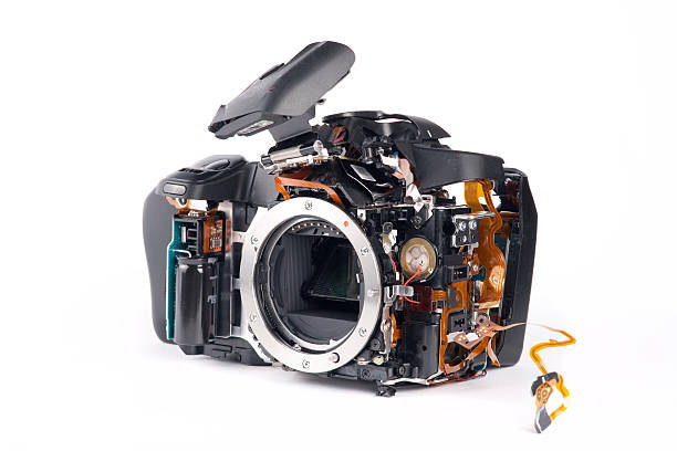 Broked デジタル一眼レフカメラ ストックフォト