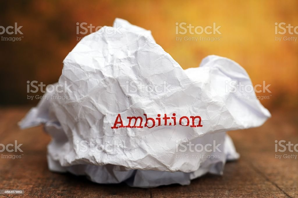 Broken ambition royalty-free stock photo