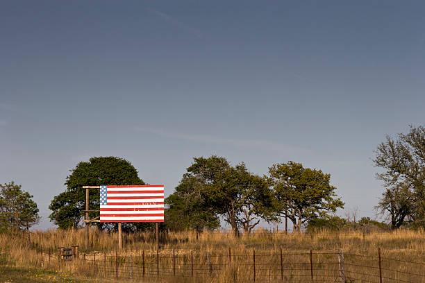 Drapeau américain vieilli - Photo
