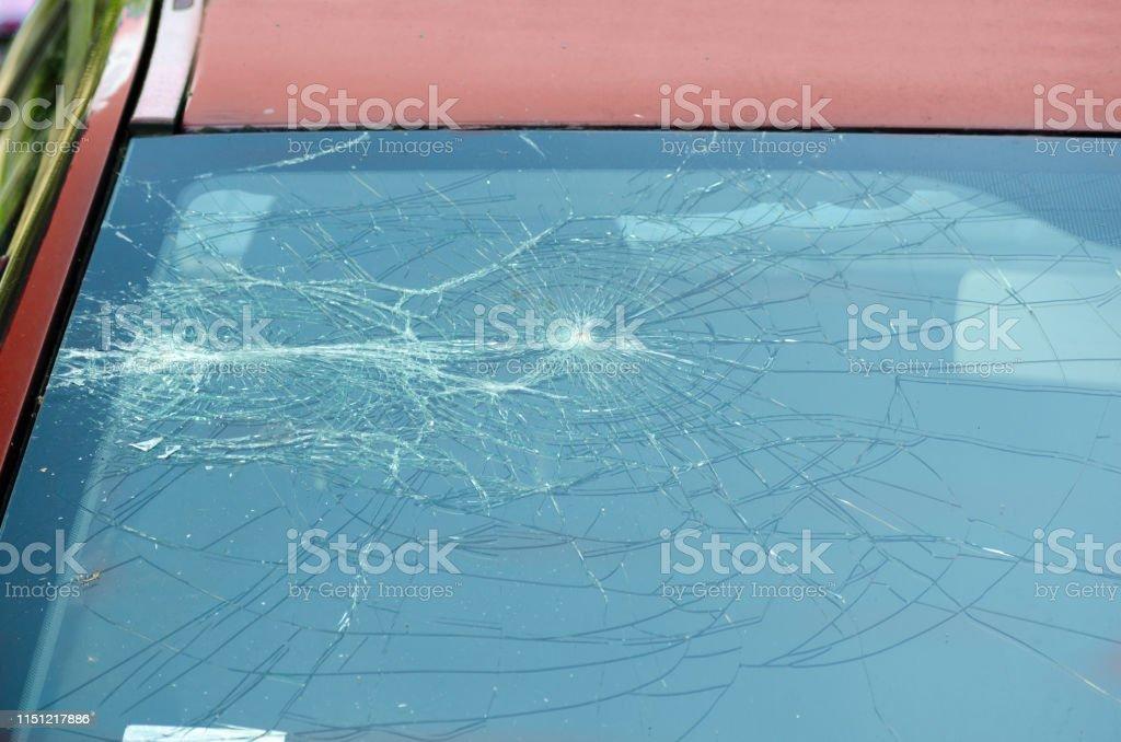 Crash en verre-Rouge