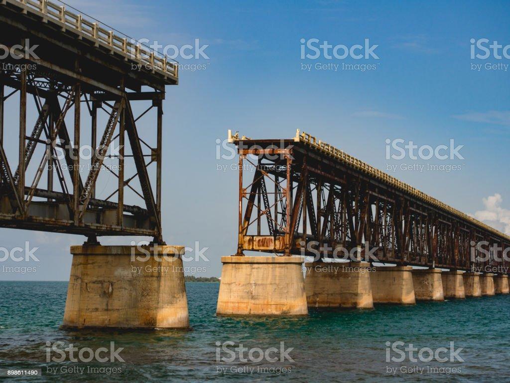 Broken Bridge In The Keys Miami Florida Stock Photo & More